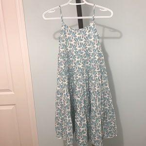 OKAIDI Girls Printed Strapped Dress